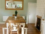 Cromarty Farrow and Ball Bedroom Country Inspired Dining Room Beam Fire Place Cream Country Pine