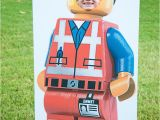 Custom Cardboard Cutouts with Face Hole Lego Guy Cut Out the Perfect Addition to Your Lego