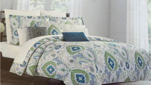 Cynthia Rowley Bedding Duvet Set Cynthia Rowley Paisley 6 Piece Queen Comforter Set New