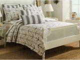 Cynthia Rowley Lattice Reversible Bedding Collection Cynthia Rowley Anchor Nautical Design Bedspread 3pc King