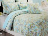 Cynthia Rowley Quilt Set Cynthia Rowley 3pc Quilt Set King Queen Floral Tropical