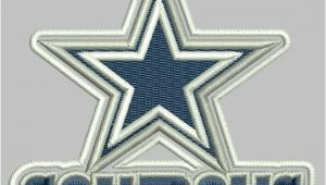Dallas Cowboys Embroidery Design Cowboy Dallas Embroidery Designs 3 5 Inch 7 by