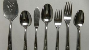 Discontinued Oneida Stainless Steel Flatware Patterns Oneida Wm A Rogers Sweet Briar Stainless Steel Flatware