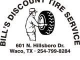 Discount Tire Locations San Jose Ca Bill S Discount Tire Service Tires 601 Hillsboro Dr Waco Tx