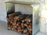 Diy Indoor Firewood Rack Corrugated Firewood Rack A Unique Way to Store Firewood Outside