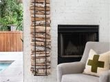 Diy Indoor Firewood Rack How to Decorate with Firewood Design Elements Display and Living