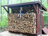 Diy Indoor Firewood Rack Outdoor Wood Shed Google Search Firewood Storage Rack Ideas