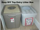 Diy top Entry Litter Box Easy Diy top Entry Litter Box