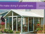 Do It Yourself Patio Enclosure Kits Sunroom Kit Easyroom Diy Sunrooms Patio Enclosures