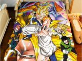 Dragon Ball Z Comforter Set Best Quality wholesale Anime Dragonball Z Bed Sheet 150