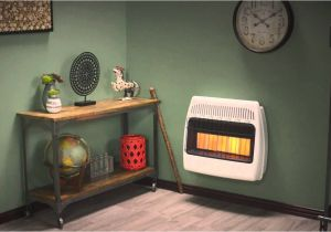 Dyna Glo Vs Mr Heater Dyna Glo 30 000 Btu Infrared Vent Free Wall Heater Youtube
