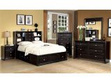Eastern King Mattress Vs. California King Mattress Shop Furniture Of America Espresso Bookcase Headboard Platform Bed