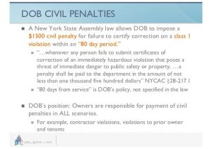 Ecb Violations Penalty forgiveness Navigating New York City Violations