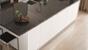 Ekbacken Countertop White Marble Effect formica Ferro Grafite with White Cabinets Google Search Kitchen