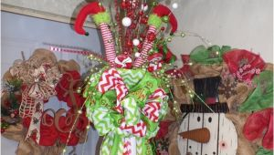 Elf Legs and Hat for Christmas Tree Elf Legs Christmas Tree topper