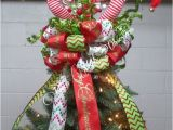 Elf Legs and Hat for Christmas Tree Elf Legs Christmas Tree topper Ready to Ship