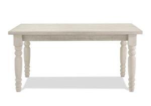 Erin Upholstered Panel Bed assembly Valerie original Dining Table Grain Wood Furniture