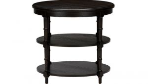 Ethan Allen Allistair Side Table Allistair Round Faux Bamboo Side Table Side Accent