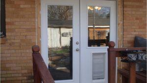 Exterior Door with Dog Door Pre Installed Doors astonishing Dog Doors for French Doors Patio Door