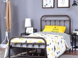 Extra Sturdy Queen Bed Frame Amazon Com Homerecommend Dark Bronze Metal Bed Frame Platform with