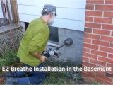 Ez Breathe Ventilation System Radon Ez Breathe Ventilation System Installation Instructions Youtube