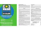 Ez Spa total Care Ingredients E Z Clor Granular Algae Out 2lbs