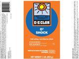 Ez Spa total Care Ingredients E Z Clor O2 Non Chlorine Pool Shock 1lb