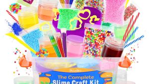 Family Birthday Board Kits Amazon Com Dilabee Ultimate Diy Slime Making Kit for Girls and Boys