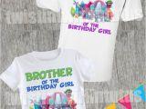 Family Birthday Board Kits Trolls Birthday Shirt Family Set Trolls Pinterest Trolls