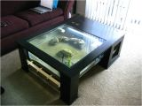 Fish Tank Coffee Table Diy Fishtank Coffee Table Glass Bottom Effect Page 4 the