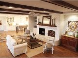 Fixer Upper Style Ceiling Fan Joanna Gaines Painted Brick Ceiling Beams White Fan to