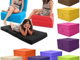 Flip Out Chair Beds for Adults Gilda Fold Out Adult Cube Guest Z Bed Chair Stool Single