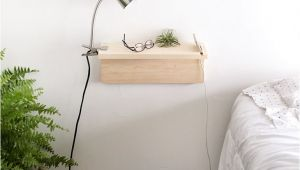 Floating Nightstand Diy Plans Genius Space Saving Projects for Tight Spots Odd Corners Diy