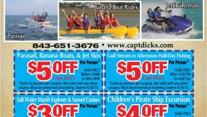 Fort Sumter tours Promo Code Crazy Sister Marina Myrtle Beach Resorts Coupons for Myrtle