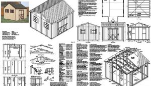 Free 12×12 Shed Plans Download Sasila Free 8 X 12 Saltbox Shed Plans