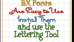 Free Bx Embroidery Fonts Bx Fonts Not Sure What they are Check Out This