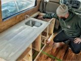 Free Frameless Kitchen Cabinet Plans How We Made Custom Kitchen Cabinets for Our Diy Van Build Gnomad Home