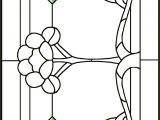 Free Victorian Stained Glass Patterns Victorian Peony Stained Glass Pattern