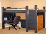 Full Size Loft Bed with Desk Underneath Plans Bunk Bed with Desk Underneath Car Interior Design