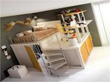 Full Size Loft Bed with Desk Underneath Plans Loft Bed with Desk Underneath Kids Furniture Ideas