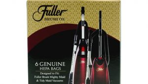 Fuller Brush Products Catalog 6 Pack Hepa Media Vacuum Bags for Uprights