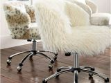 Furry Desk Chair Cover Fur Desk Chair Cover Just Pillow