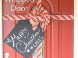 Garage Door Christmas Wrap 50 Christmas Door Decoration Ideas Pink Lover