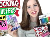 Gift Ideas for 13 Year Old Autistic Girl Stocking Stuffers for Girls What S In My 12 Year Old S Stocking