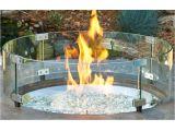 Glass Windscreen for Fire Pit 25 Glass Windshield Vita Vino Wine Barrel Fire Pits