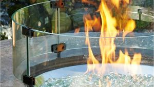 Glass Windscreen for Fire Pit Glass Windscreen for Fire Pit Fire Pit Windshields