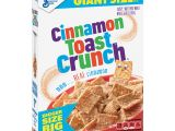 Gluten Free Cookie Delivery College Station Cinnamon toast Crunch Breakfast Cereal Giant Size 27 Oz Box