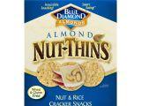 Gluten Free Cookie Delivery College Station Nut Thins Crackers original Almond 4 25 Oz Box Walmart Com