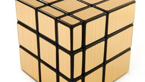 Gold Mirror Cube for Sale Us Shengshou Golden 3×3 Speed Mirror Cube Magic Puzzle