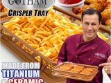 Gotham Steel Crisper Recipes Gotham Steel Crisper Tray as Seen On Tv Gifts